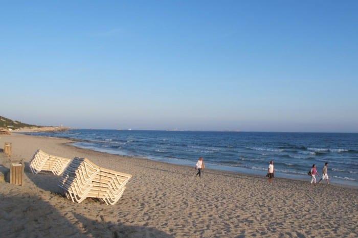 A noite (por incrível que pareça, sim a noite!) na praia Ses Salinas