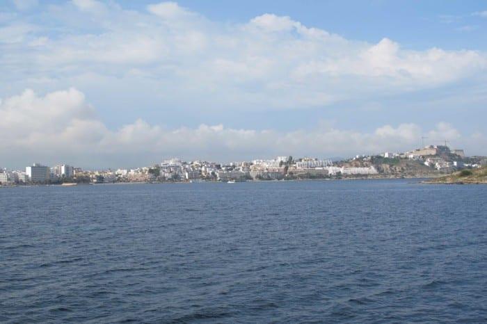 Panorama ilha de Ibiza