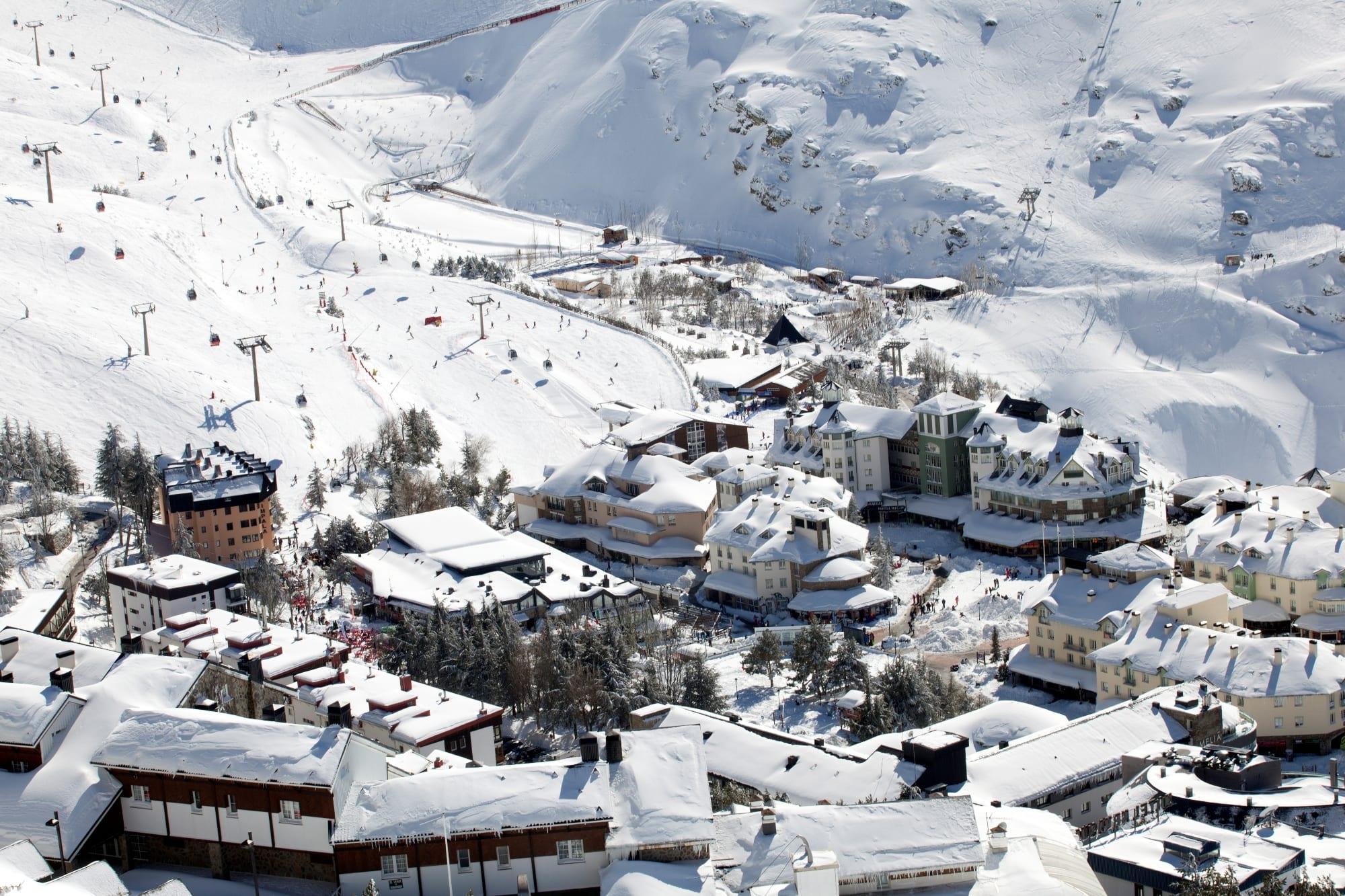 Sierra nevada o melhor do esqui na espanha - Apartamentos baratos en sierra nevada ...