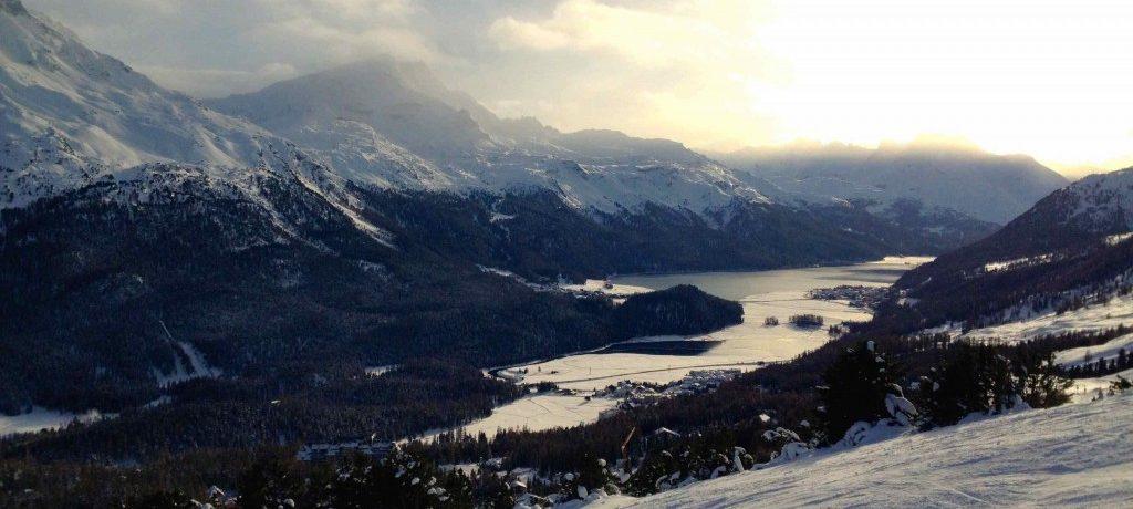 St. Moritz: uma estação de esqui badalada