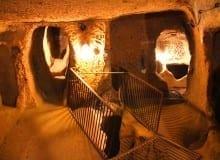 cidade subterranea na Capadocia