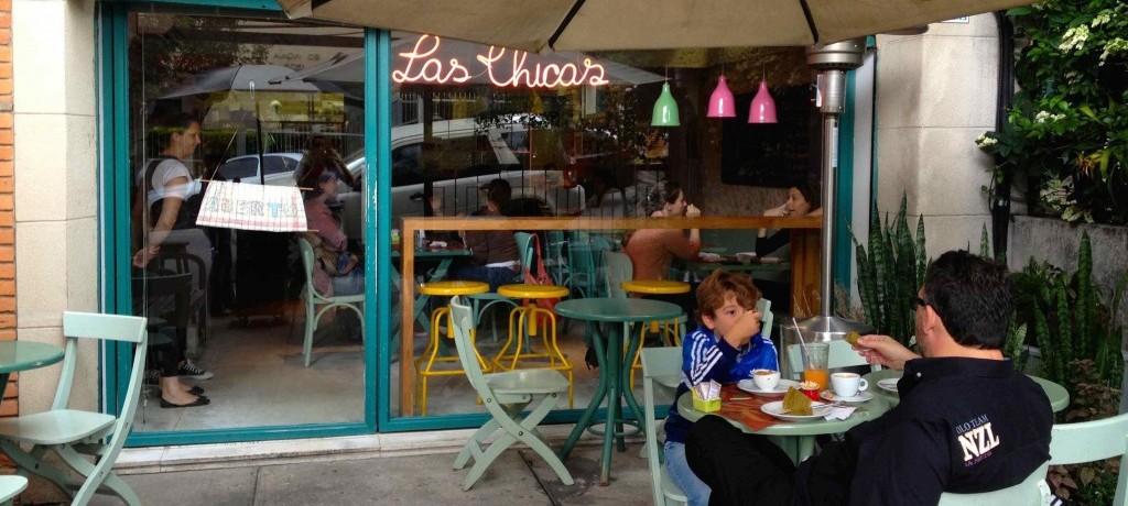 Las Chicas: almoço caseiro na Oscar Freire