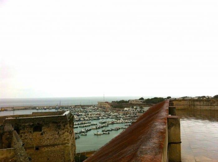 Vista do Castelo de Otranto