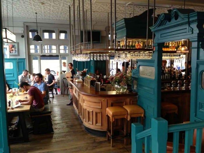 O Pub Duke of Wellington em Notting Hill, Londres