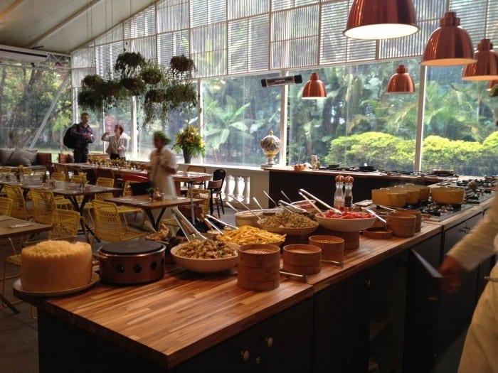 Restaurante comida brasileira sp