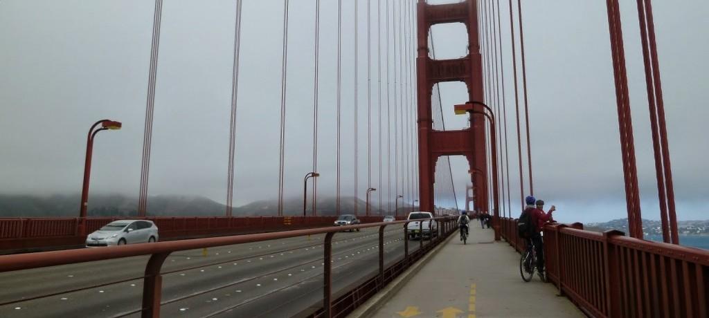 Pedalando pela Golden Gate: programa imperdível!