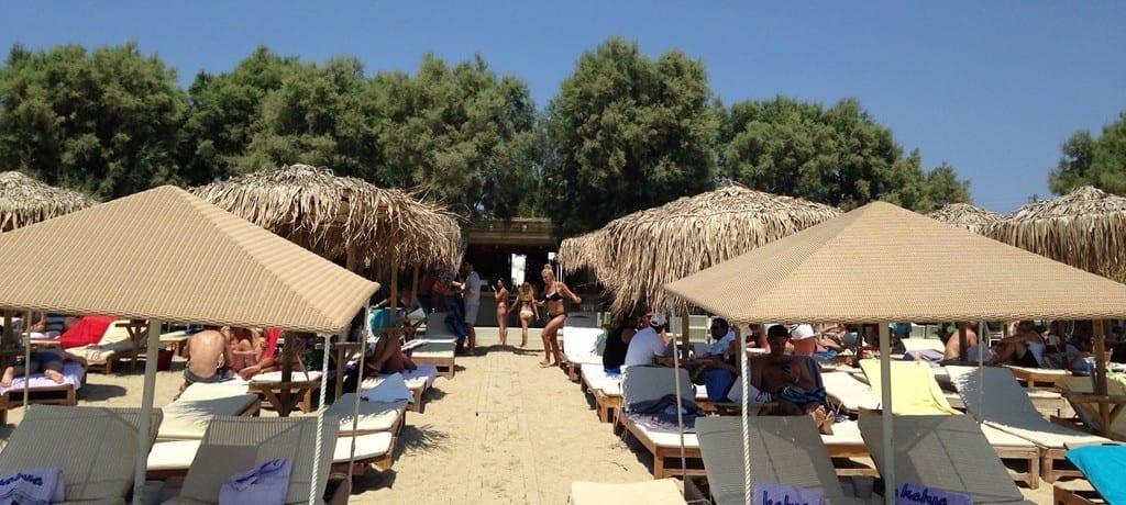 Restaurant Kalua Beach: agito, sol e mar