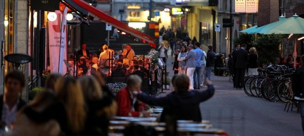 Rua Grev Turegatan em Estocolmo