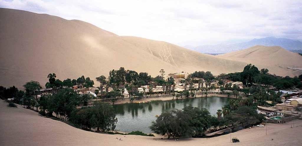 Lagoa da Huacachina - capa