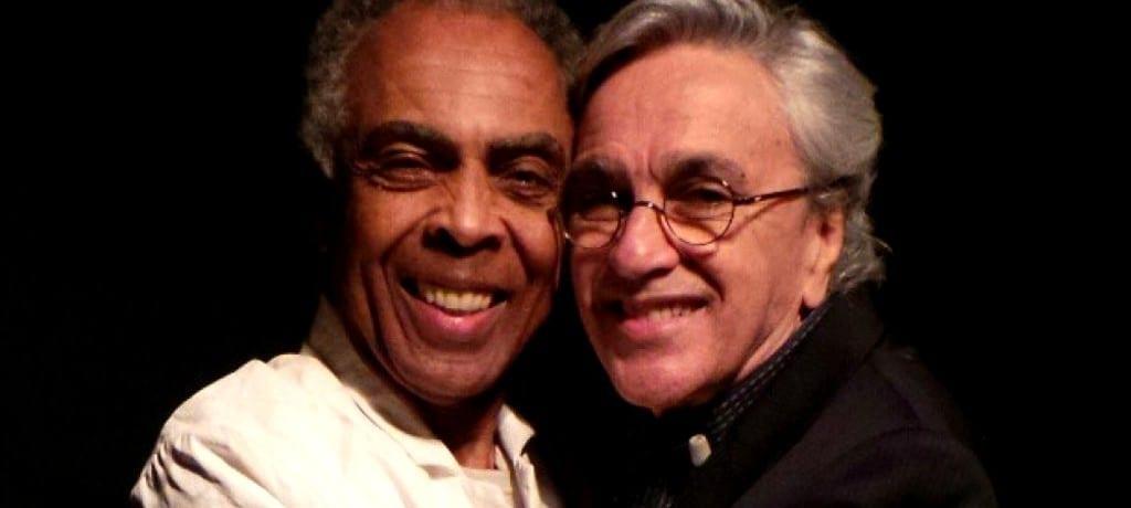 Caetano Veloso e Gilberto Gil em turnê pela Europa