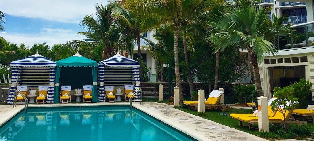 O novíssimo e incrível Thompson em Miami Beach