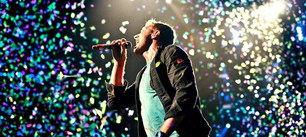 Show do Coldplay em 2015