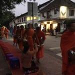Alms giving - Luang Prabang, Laos