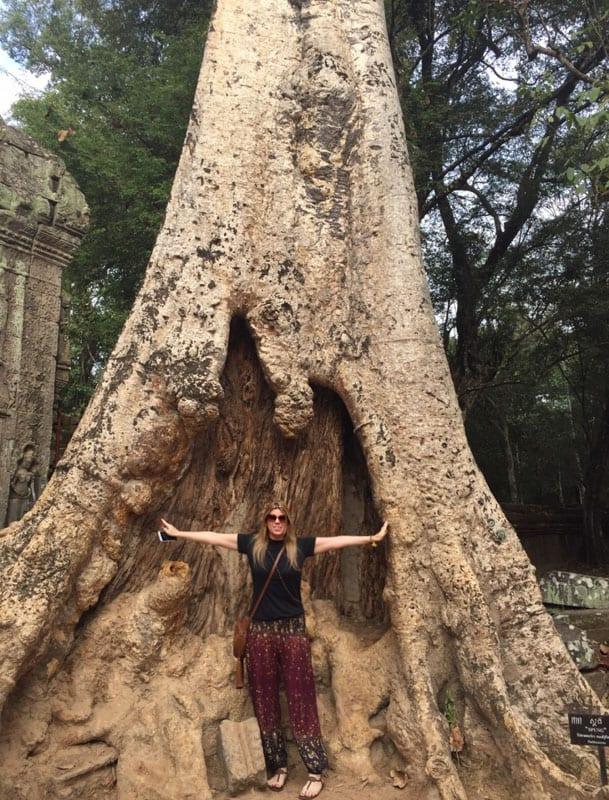 Ta Prhon - Cambodja