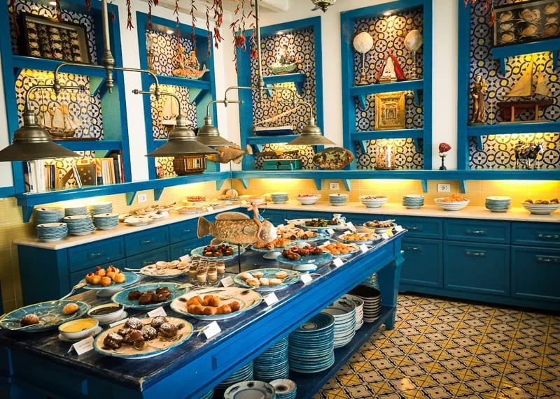melhores restaurantes da ilha de Capri-1