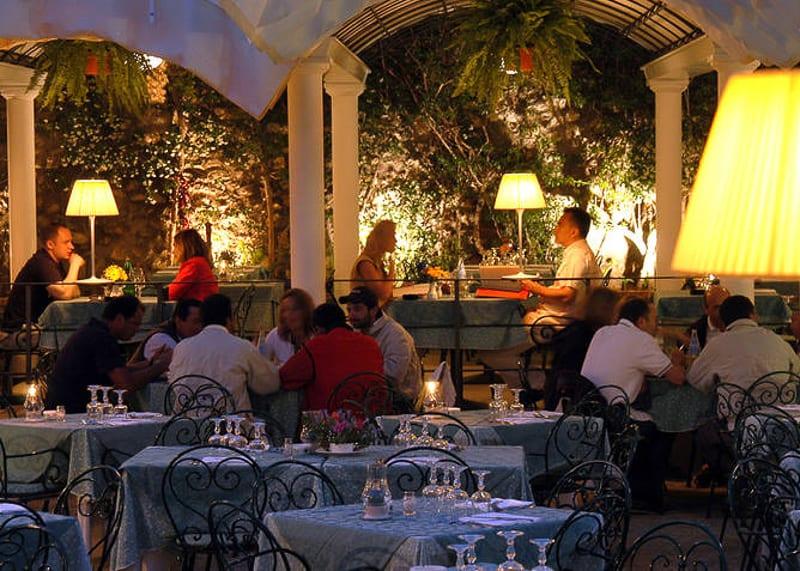 melhores restaurantes da ilha de Capri-4