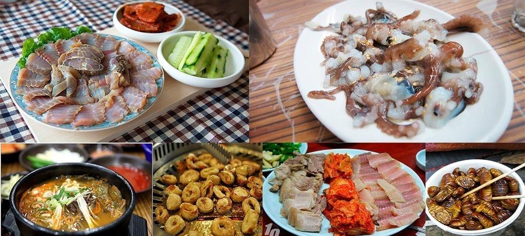 Comida Coreana Exótica – Parte 2