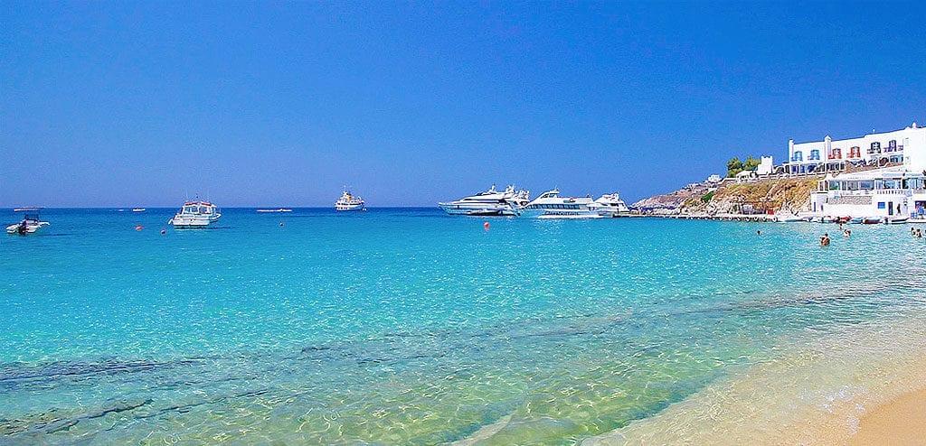 melhores beach clubs em mykonos