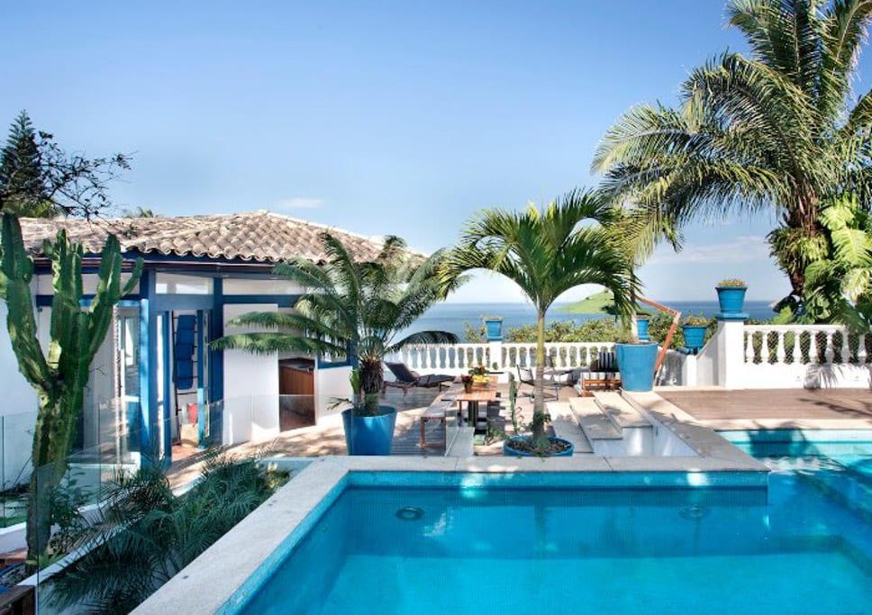 casa para alugar em São Conrado
