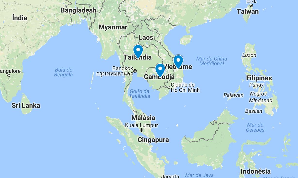 roteiros na asia tailandia cambodja vietnam