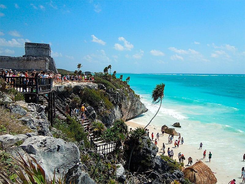 viagem em familia tulum rivieira maya