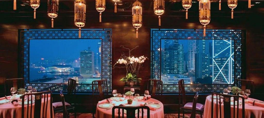 Restaurante Man Wah em Hong Kong