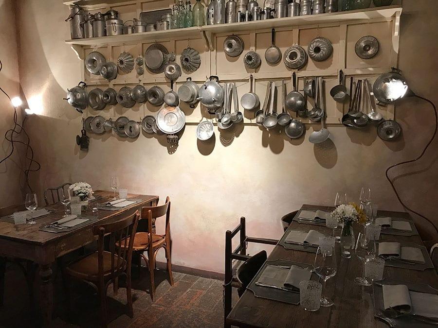 restaurantes incríveis nos arredores de Milão Camp di Cent Pertigh