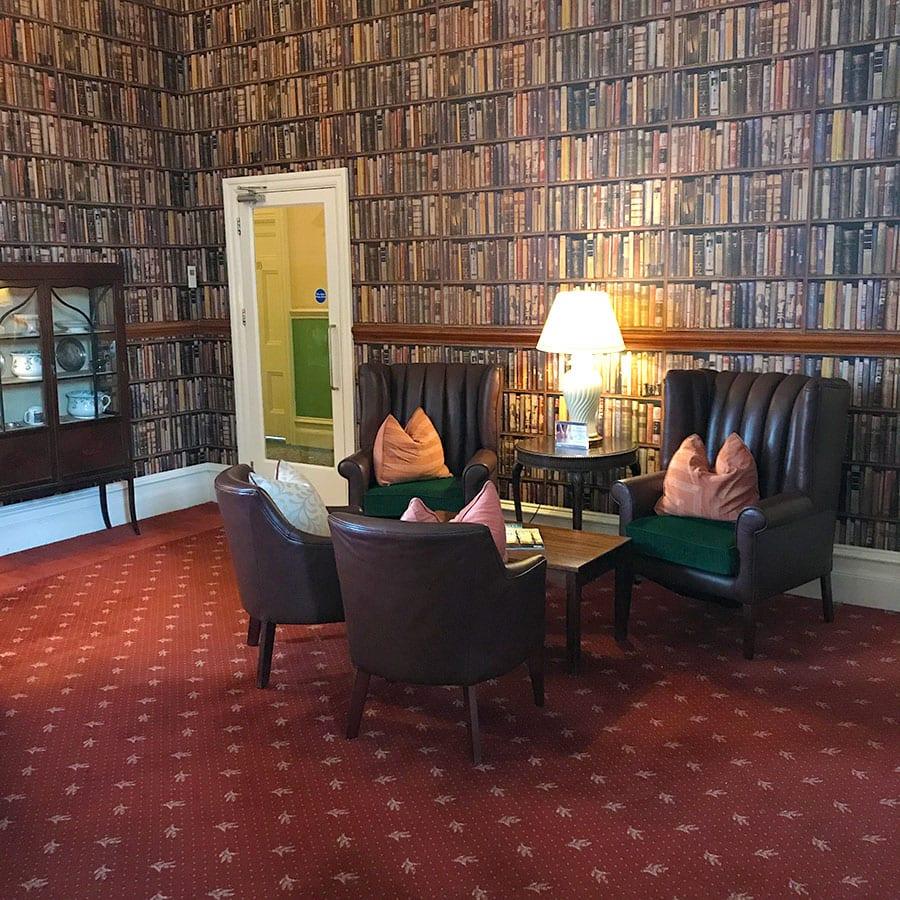 interior da Inglaterra headland hotel