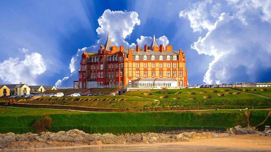 interior da Inglaterra the headland hotel