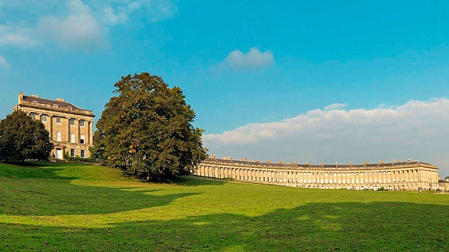 interior da Inglaterra the royal crescent