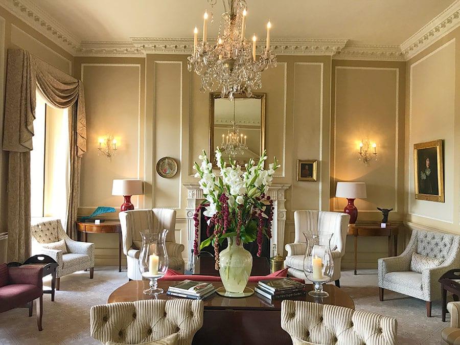 interior da Inglaterra the royal crescent hotel