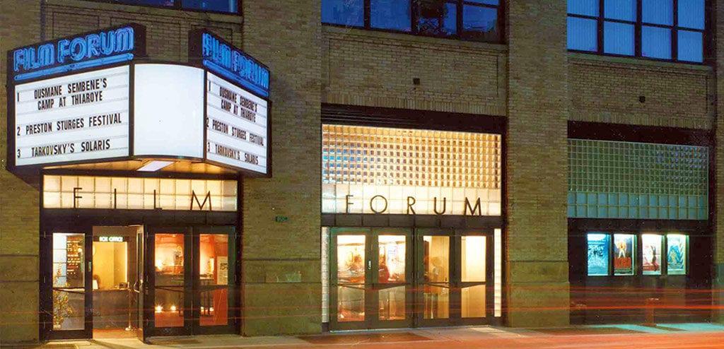 cinemas em Nova York film forum