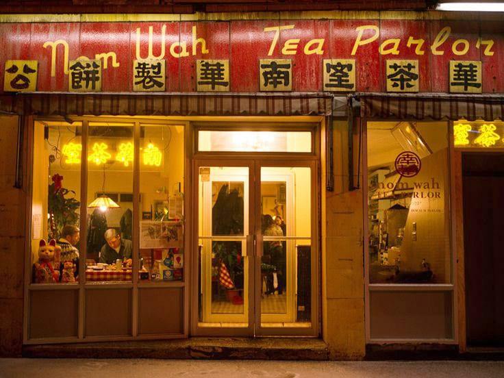 cozinha cantonesa nom Wah Tea Parlor