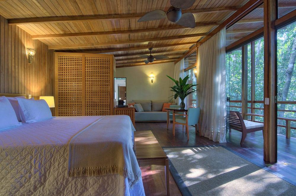 hotel de selva sem mosquitos Anavilhanas Lodge bangalô