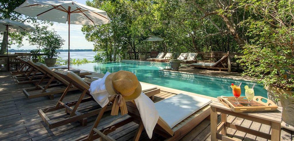 hotel de selva sem mosquitos