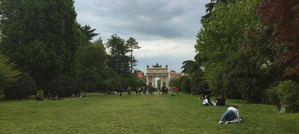 Um dia em Milão