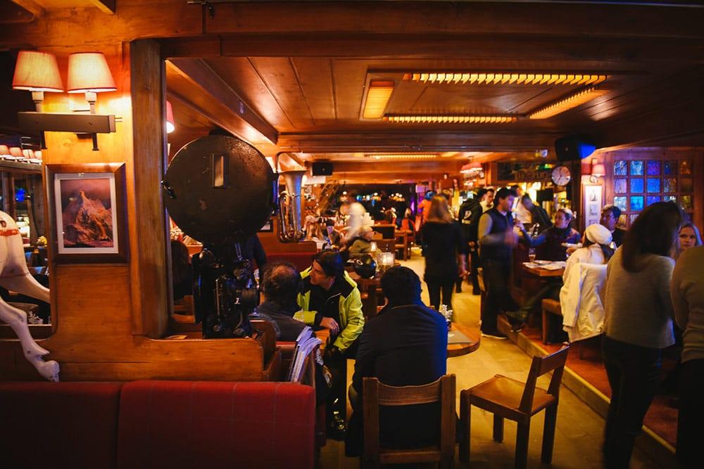 Après-ski e restaurantes em Courchevel le tremplin