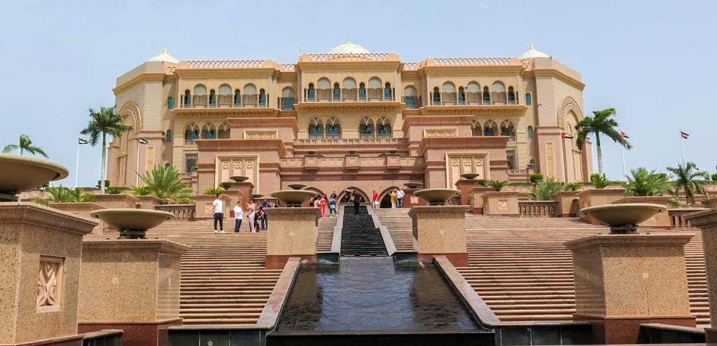 Hoteis luxuosos em Abu Dhabi