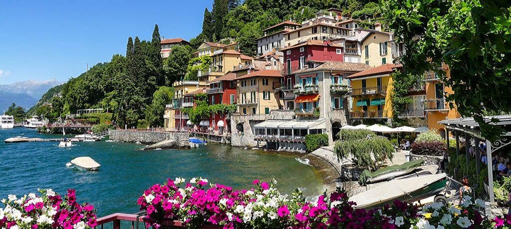 Os lindos lagos da Itália – região norte
