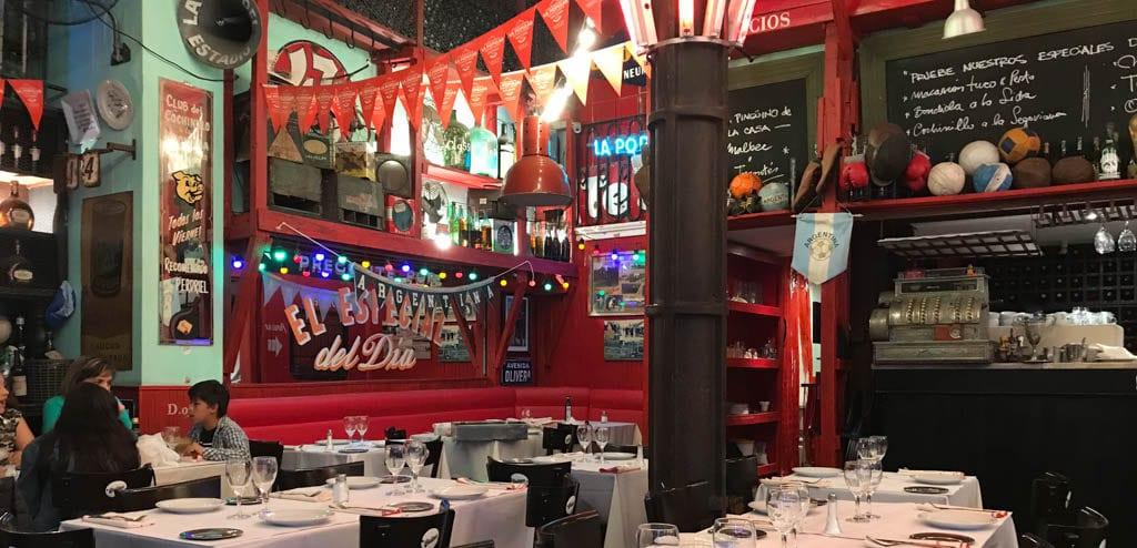 Onde beber e comer em San Telmo