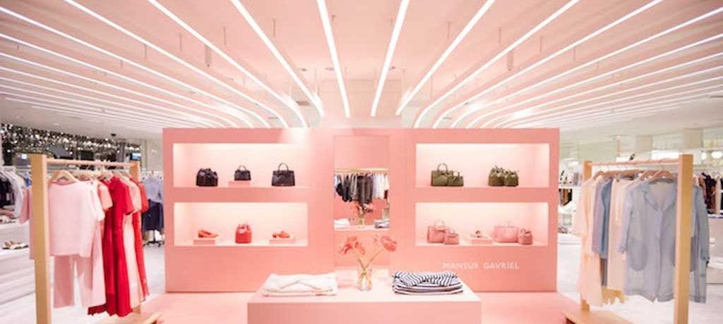 Millennial Pink além do tom em NYC