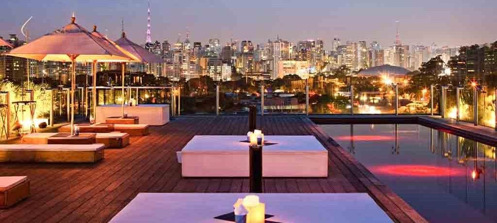 Melhores hotéis em São Paulo para uma staycation