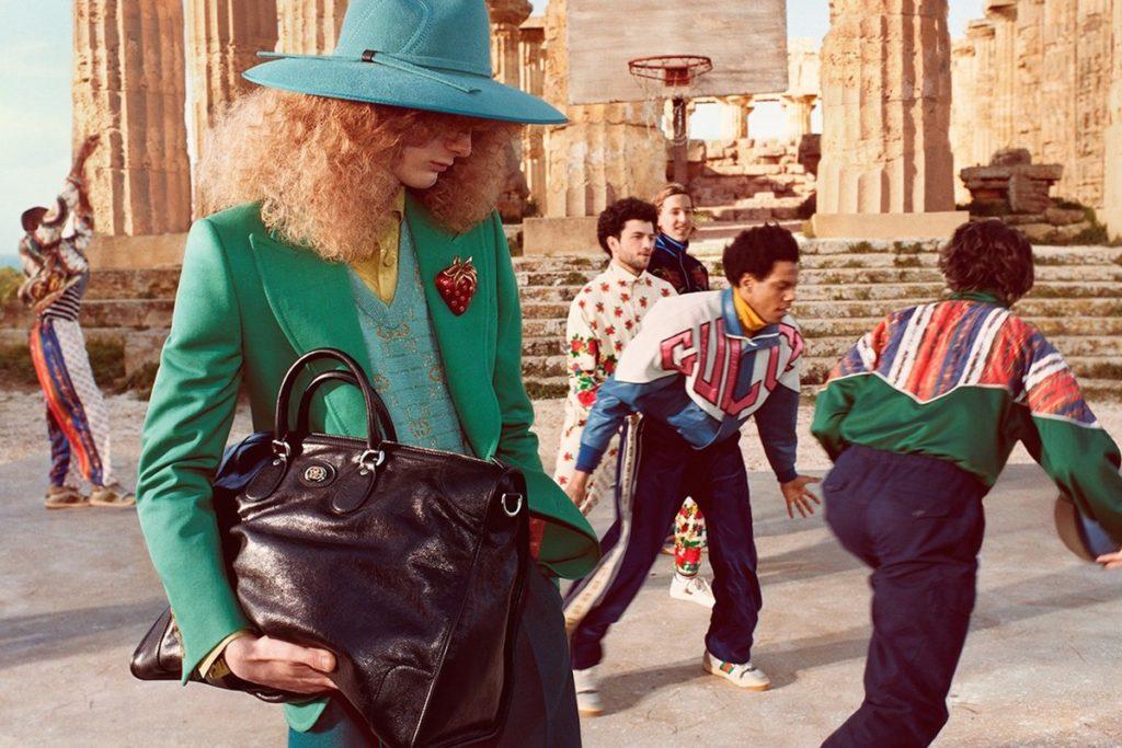 Editorial Gucci nas Ruínas de Akragas
