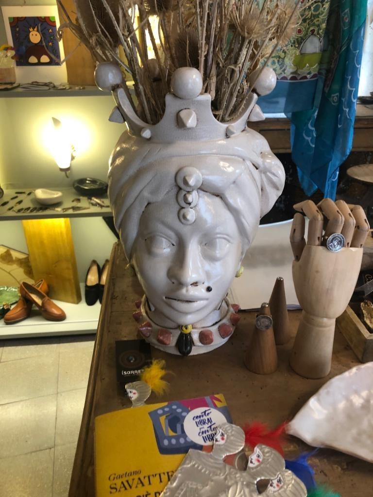Cabeças de cerâmica de Caltagirone