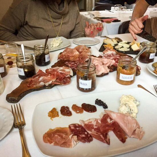 roteiro gastronômico na Itália