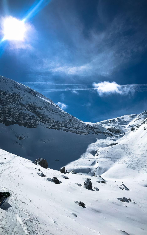 esqui nas dolomitas